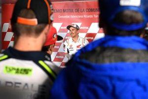 Jorge Lorenzo, Repsol Honda Team announcing retirement