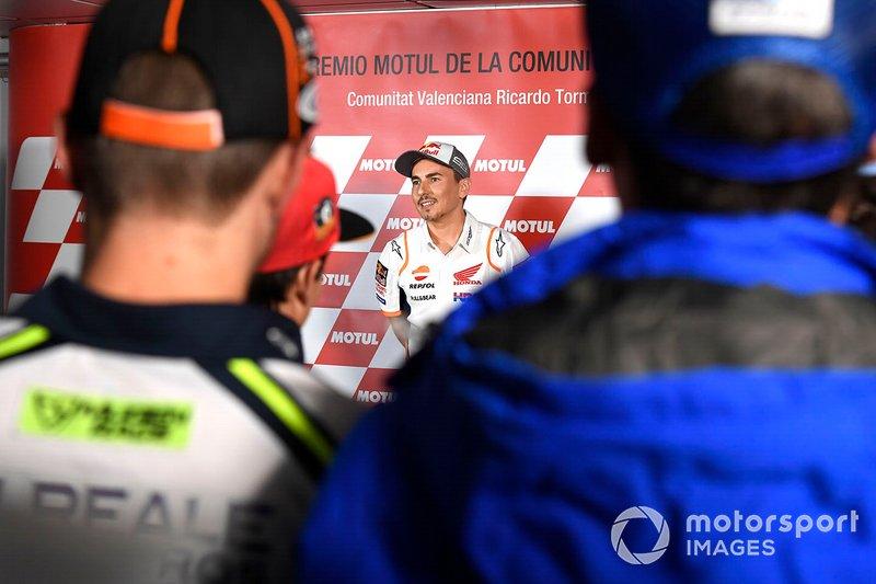 Jorge Lorenzo, Repsol Honda Team anuncia su retiro