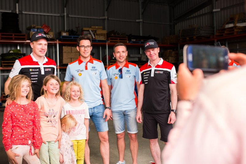 Thierry Neuville, Nicolas Gilsoul, Hyundai Motorsport, Jari-Matti Latvala, Miikka Anttila, Toyota Gazoo Racing WRT