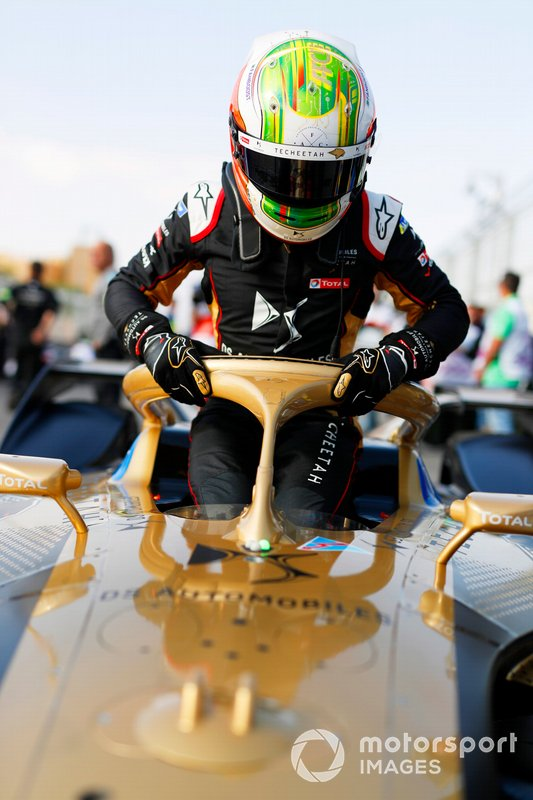 Antonio Felix da Costa, DS Techeetah on the grid