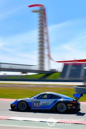#20 GT3 Am, Wright Motorsports, Fred Poordad, Max Root, Porsche 911 GT3 R (991.II)