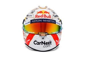 Le casque 2020 de Max Verstappen