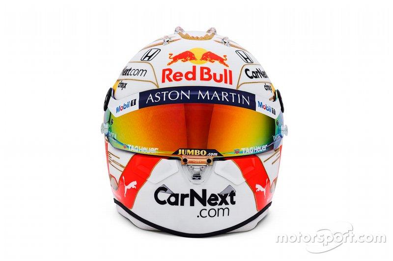 Шлем гонщика Red Bull Макса Ферстаппена на 2020 год
