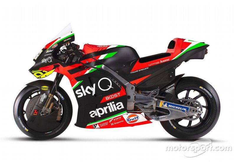Aprilia Racing Team Gresini bike
