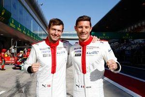 Ganador de la pole GTE_Pro, #92 Porsche GT Team Porsche 911 RSR - 19: Michael Christensen, Kevin Estre
