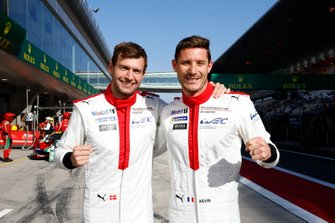 Pole sitter GTE_Pro, #92 Porsche GT Team Porsche 911 RSR - 19: Michael Christensen, Kevin Estre
