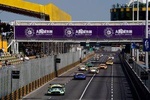 Renn-Action beim GT-Weltcup 2019 in Macau