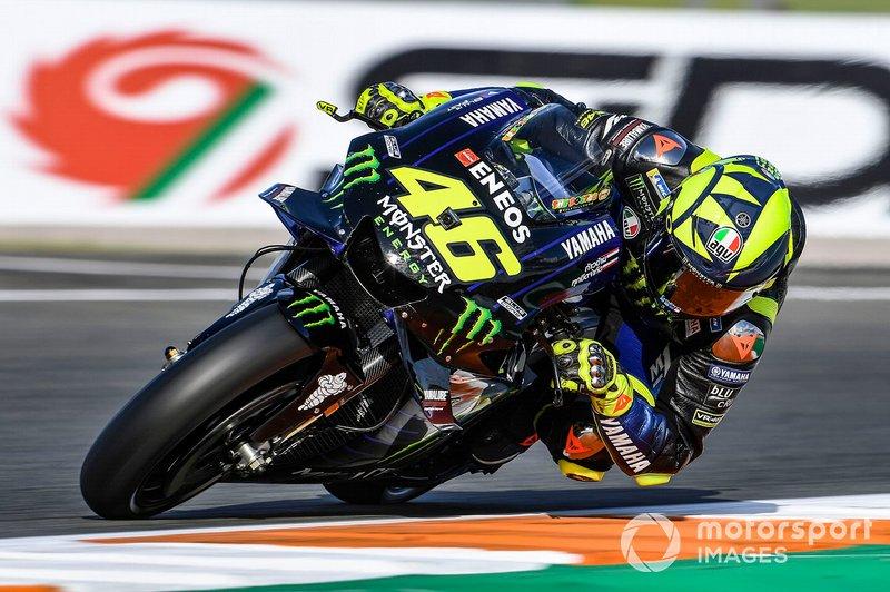15. Valentino Rossi, Yamaha Factory Racing