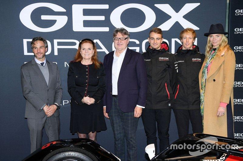 Jamie Reigle, Sarah Ferguson, Mario Moretti Polegato, Nico Mueller, Brendon Hartley, Dragon Racing, Jodie Kidd