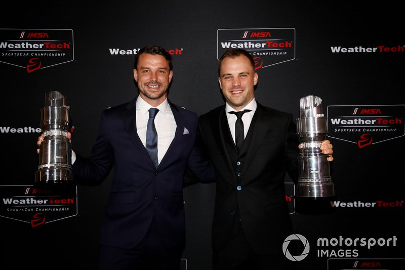 #912 Porsche GT Team Porsche 911 RSR, GTLM: Earl Bamber, Laurens Vanthoor, GTLM Champions