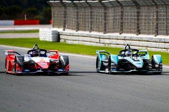 James Calado, Jaguar Racing, Jaguar I-Type 4 alongside Jérôme d'Ambrosio, Mahindra Racing, M6Electro