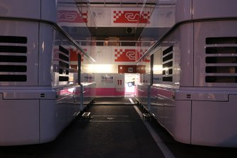 Racing Point motorhome