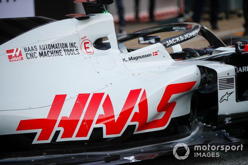 Vue détaillée de la Haas VF-20