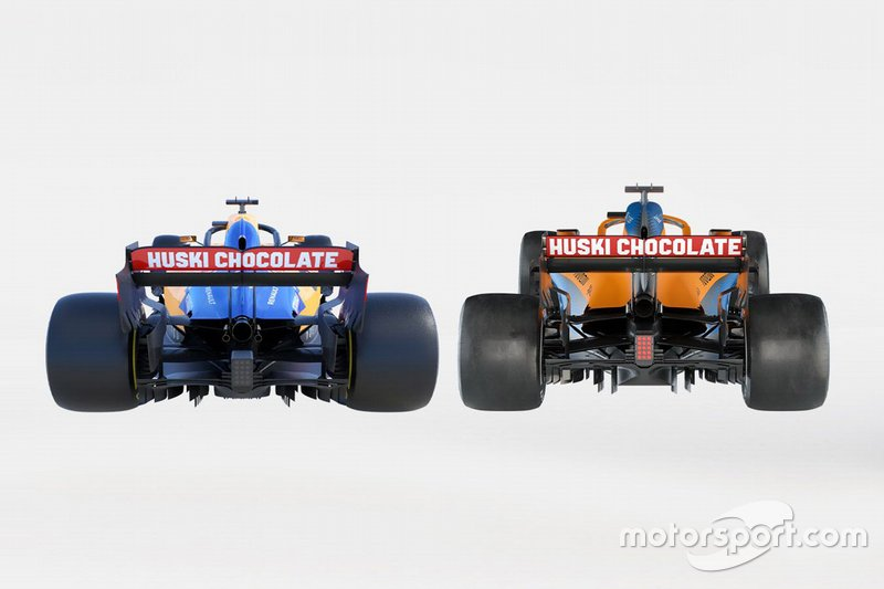 Сравнение: McLaren MCL34 и McLaren MCL35