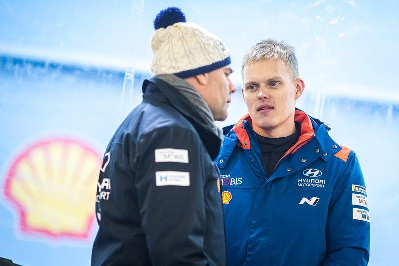 2020 FIA Ott Tänak, Hyundai Motorsport, Andrea Adamo, Team principal Hyundai Motorsport