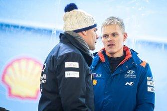 2020 FIA Ott Tänak, Hyundai Motorsport, Andrea Adamo, Director del equipo Hyundai Motorsport