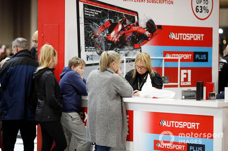 The Autosport subscription stand