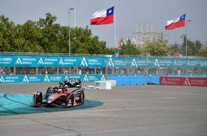 Oliver Rowland, Nissan e.Dams, Nissan IMO2 Brendon Hartley, Dragon Racing, Penske EV-4
