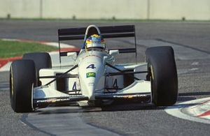 Mark Blundell, Tyrrell 022 Yamaha, al GP di San Marino del 1994