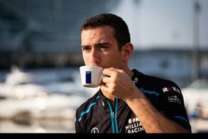 Nicholas Latifi, Williams FW42, sponsor della Lavazza