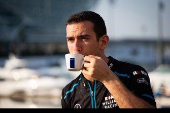 Nicholas Latifi, Williams FW42, sponsor della Lavazza