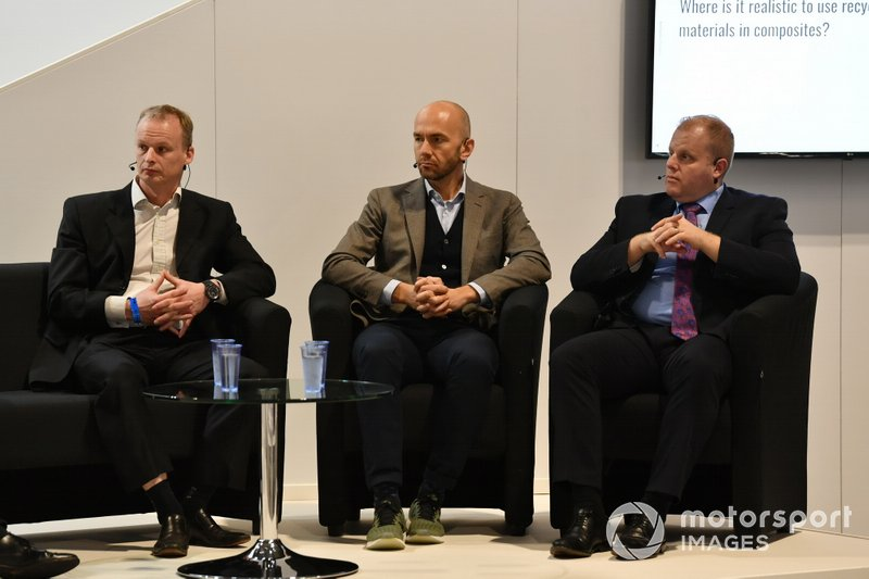 A Q&A session at the Business Forum