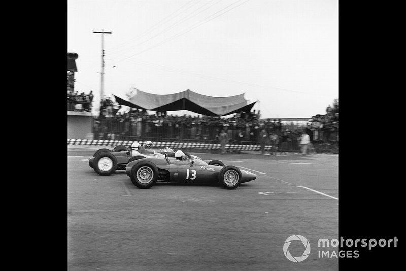 Moses Solana, Scuderia Centro Sud, al GP del Messico del 1963