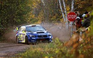 Oliver Solberg, Aaron Johnston, Subaru WRX STI