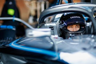 Jake Hughes, Rookie Test Driver for Mercedes Benz EQ