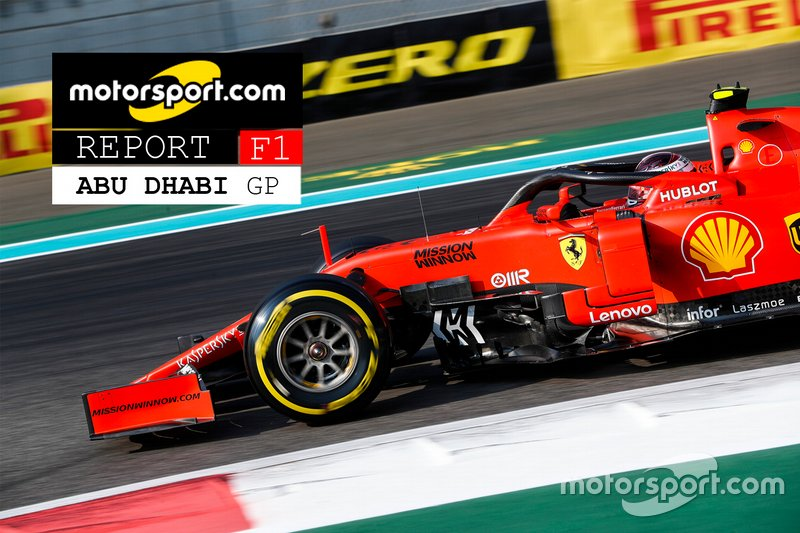 Copertina Report GP di Abu Dhabi