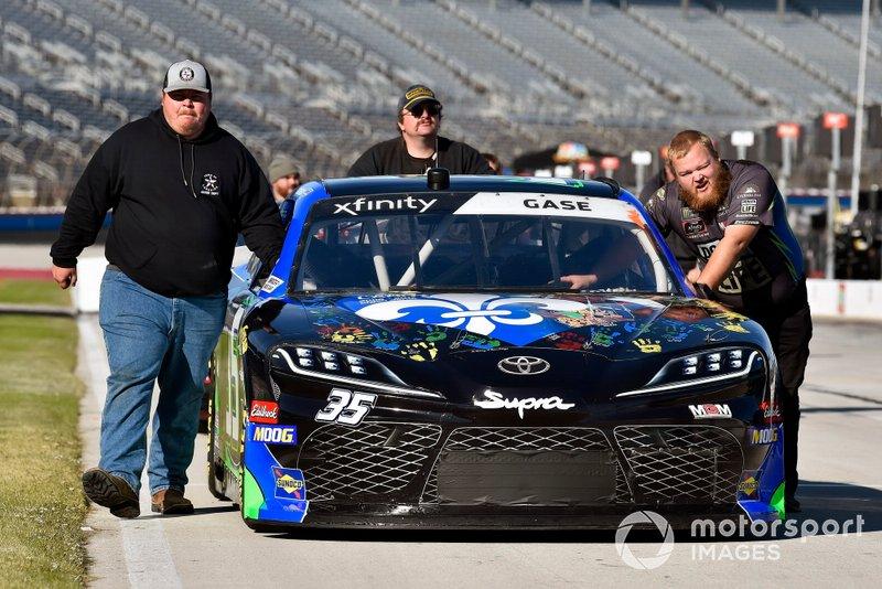 Joey Gase, Motorsports Business Management, Toyota Supra TheGiftedLife.org