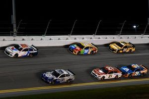 Alex Bowman, Hendrick Motorsports, Chevrolet Camaro Valvoline, Kevin Harvick, Stewart-Haas Racing, Ford Mustang Busch Light #PIT4BUSCH, Kyle Busch, Joe Gibbs Racing, Toyota Camry M&M's, Matt DiBenedetto, Wood Brothers Racing, Ford Mustang Motorcraft/Quick Lane, William Byron, Hendrick Motorsports, Chevrolet Camaro Axalta 'Color of the Year', Erik Jones, Joe Gibbs Racing, Toyota Camry DeWalt