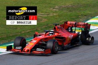 Copertina Report GP del Brasile