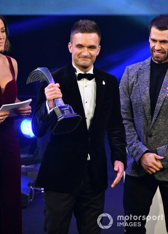 Colin Turkington riceve il National Driver of the Year Award