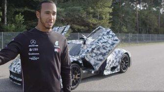 Lewis Hamilton prueba el Mercedes-AMG ONE