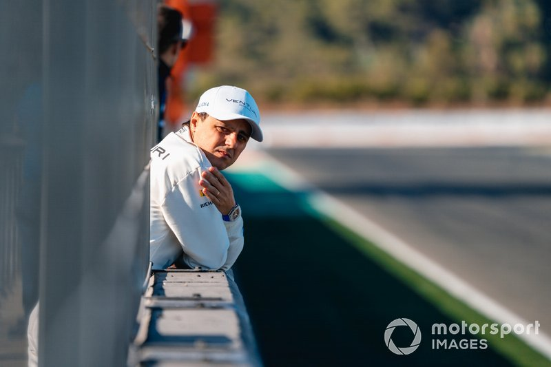 Felipe Massa, Venturi at the pit wall