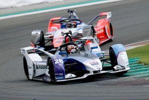 Maximilian Gunther, BMW I Andretti Motorsports, BMW iFE.20, Jérôme d'Ambrosio, Mahindra Racing, M6Electro