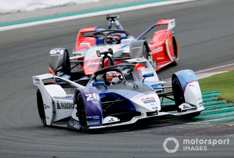 Maximilian Gunther, BMW I Andretti Motorsports, BMW iFE.20, Jérôme d'Ambrosio, Mahindra Racing, M6Electro