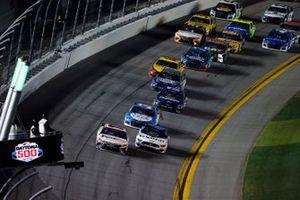 Denny Hamlin, Joe Gibbs Racing, Toyota Camry, Ryan Newman, Roush Fenway Racing, Ford Mustang