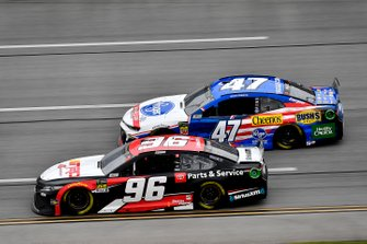 Parker Kligerman, Gaunt Brothers Racing, Toyota Camry TRD 40th Anniversary and Ryan Preece, JTG Daugherty Racing, Chevrolet Camaro Kroger