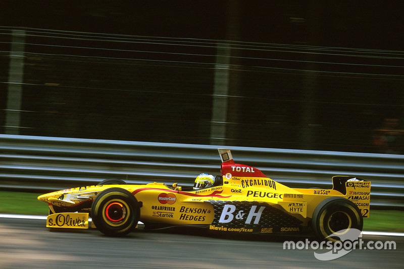 1997, Jordan: Giancarlo Fisichella en Ralf Schumacher
