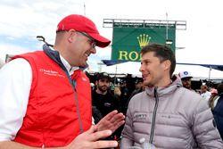 Chris Reinke, Audi Customer Sport y Loic Duval, DragonSpeed