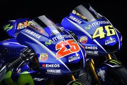 Die neuen Bikes von Maverick Viñales, Yamaha Factory Racing, und Valentino Rossi, Yamaha Factory Rac