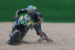 Remy Gardner, Tech 3 Racing after his crash