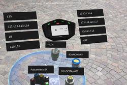 Données de télémétrie de l'Aprilia RS-GP indiquées par réalité augmentée