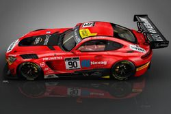 Raffaele Marciello, Mathias Lauda, Michael Meadows, Mercedes AMG-GT3, AKKA ASP
