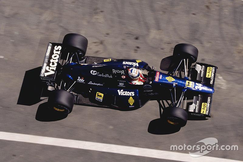 Nicola Larini, Team Modena - Lamborghini 291