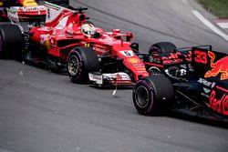 Авария: Себастьян Феттель, Ferrari SF70H