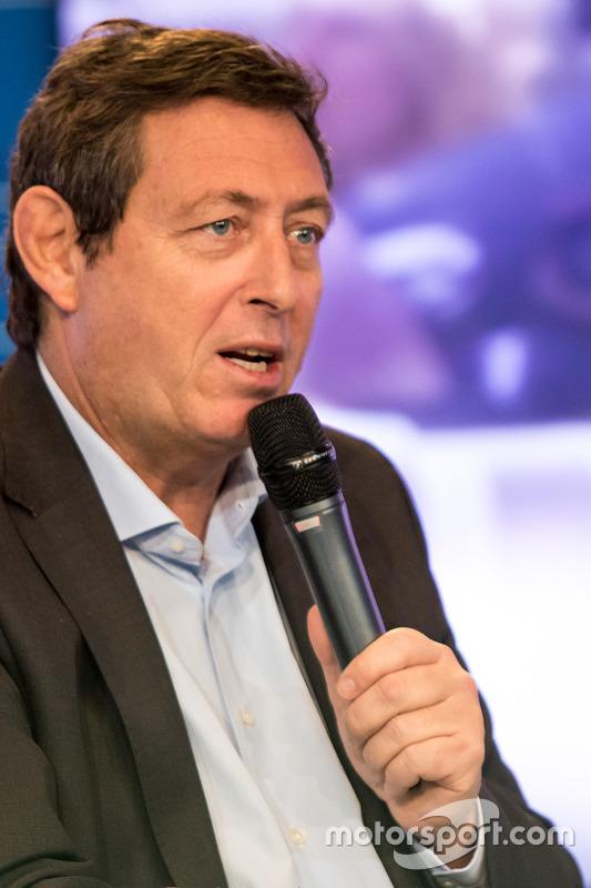 Gerard Neveu, CEO de WEC