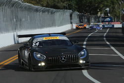 #54 Black Swan Racing, Mercedes AMG GT3: Tim Pappas